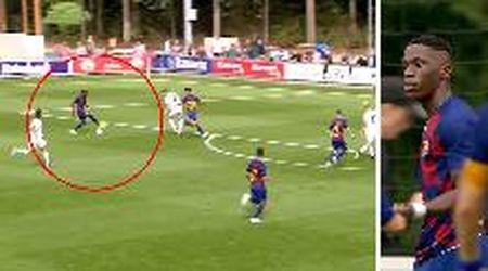 """Barcellona, la giocata del """"nuovo Pogba"""": il 16enne Moriba vale già 100 milioni"""