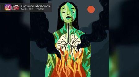 Un disegno per salvare l'Amazzonia: artisti uniti contro i roghi