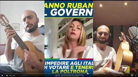 """Conte bis, """"Rubala!"""": la nuova hit esilarante di Giorgia Meloni 'musicata' da Fabio Celenza"""