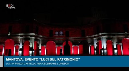 L'Unesco illumina Mantova