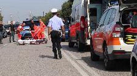 Ciclista investito da un'auto a Ferrara