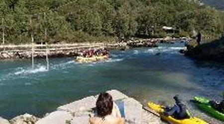 Ecco la Regata isontina, l'Isonzo in kayak (e non solo)
