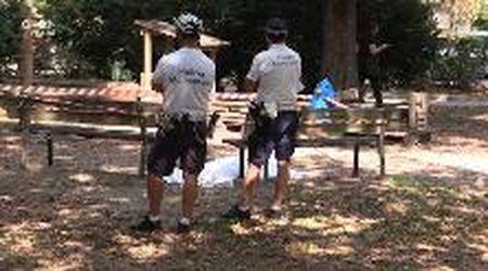 Modena, cadavere trovato al parco delle Rimembranze