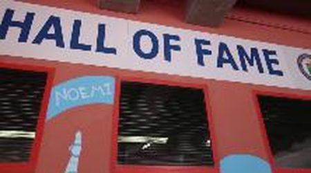 Inaugurati allo stadio Rocco di Trieste i murales dedicati agli azzurri