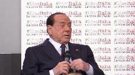 """Berlusconi, il 19 ottobre in piazza con Salvini: """"Carcere per chi evade 50mila euro è una vergogna"""""""
