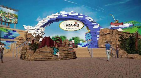 Le prime immagini del portale di ingresso di Legoland Water Park Gardaland