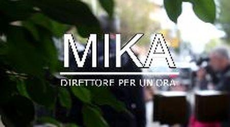 """Mika in visita al Tirreno: eccolo direttore per un'ora e protagonista di altre """"figate"""""""