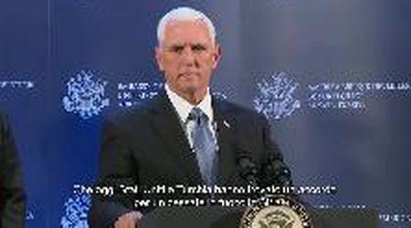 """Siria, accordo Usa-Turchia per la tregua, Pence: """"Salveremo vite"""""""