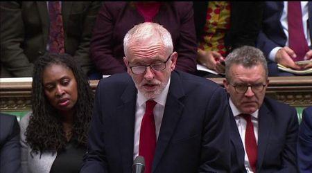 """Brexit, Corbyn: """"Giornata storica. Ora Johnson deve rispettare legge per rinvio"""""""
