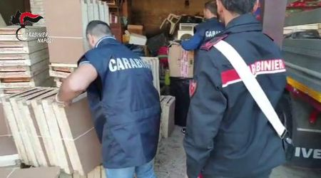 Droga: 112 kg di marijuana in un terreno a Marano, due arresti