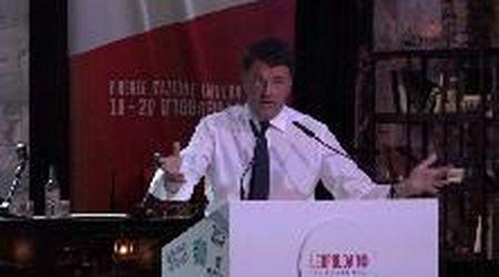 """Leopolda 10, Renzi ai delusi di Forza Italia: """"Venite da noi, Salvini di moderato non ha neanche la pettinatura"""""""