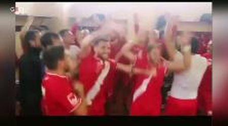 Calcio, Prima categoria: il Pienza vince in trasferta, la grande festa negli spogliatoi