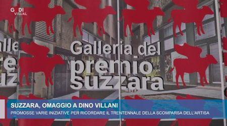 Omaggio di Suzzara a Dino Villani