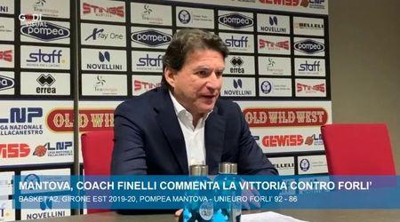 La Pompea batte Forlì, la gioia di Finelli