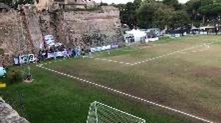 Calcio dilettanti: l'Orbetello vince e fa festa con i suoi tifosi