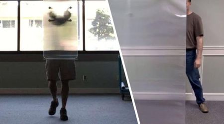 Ecco il materiale che rende invisibili: nasconde persone e oggetti alla vista