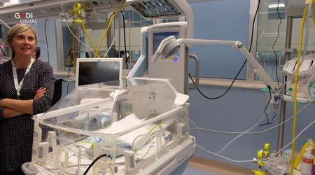 Mantova, l'inaugurazione del reparto di Neonatologia