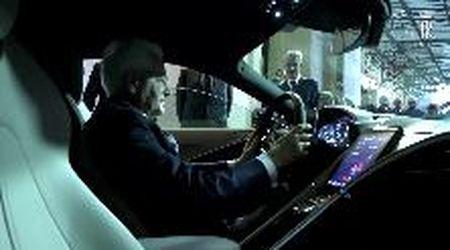 Presentata al Presidente della Repubblica Italiana la nuova Ferrari Roma.