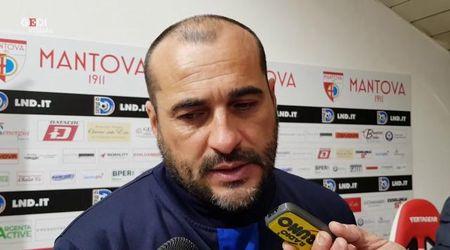 Mantova-Fiorenzuola, mister Brando: bella partita, ma abbiamo fatto errori