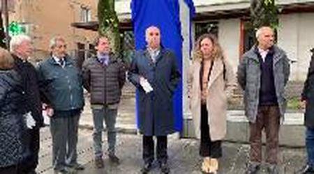 Inaugurato il riqualificato il piazzale Monte Re a Opicina