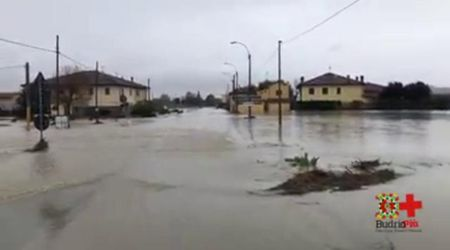 Maltempo Emilia-Romagna, drammatica situazione a Budrio: nuova esondazione