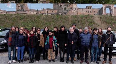 Mantova, l'ospedale Poma diventa scenario per la street art