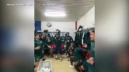 Nazionale Under 21, Cutrone show negli spogliatoi: riscaldamento insolito con esultanza finale