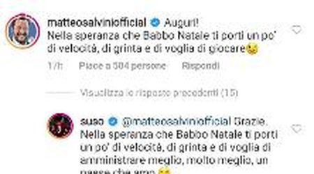 Milan, Salvini vs Suso: il botta e risposta per il compleanno del calciatore infiamma i social