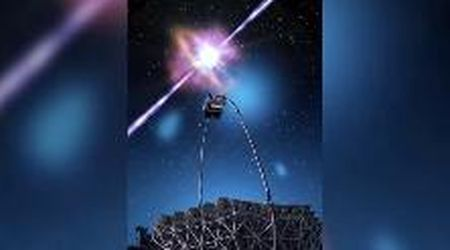 Catturato un lampo di raggi gamma: la luce cosmica più brillante mai vista
