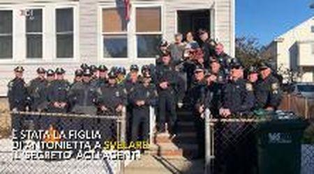 """Usa, per anni cucina in segreto le """"pizzelle"""" ai poliziotti: l'omaggio degli agenti"""