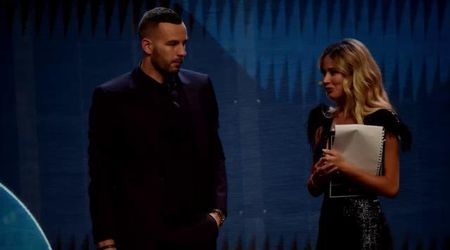 """Diletta Leotta e la gaffe con Handanovic. Il portiere la gela: """"Vedo che sei ben informata"""""""