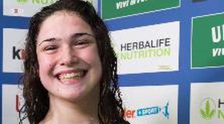 Nuoto, nuovo record per Benedetta Pilato: ritratto della 14enne prodigio