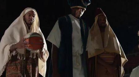 A Biella il presepe diventa una partita di basket