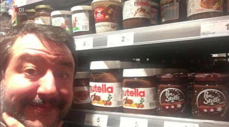 """Salvini contro la Nutella, dilaga l'ironia social: """"Via il granturco, solo grano italiano"""""""
