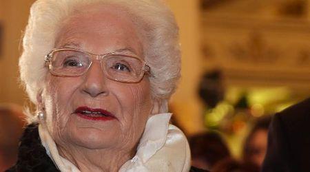 """Morte Terracina, Liliana Segre: """"Senza Piero mi sento ancora più sola. La storia verrà dimenticata"""""""