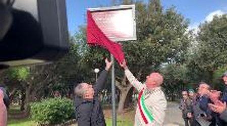 Livorno, la Rotonda Ardenza intitolata a Carlo Azeglio Ciampi