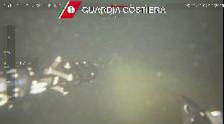 Cerboli, il robot che scruta il mare a caccia delle ecoballe