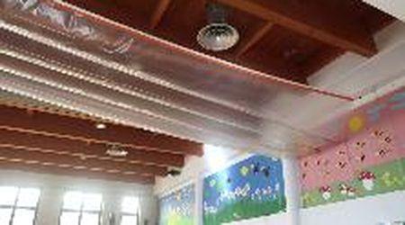 Finiti i lavori al tetto della palestra della Società Artistica '81