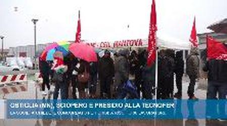Ostiglia, in sciopero i lavoratori Tecnofer