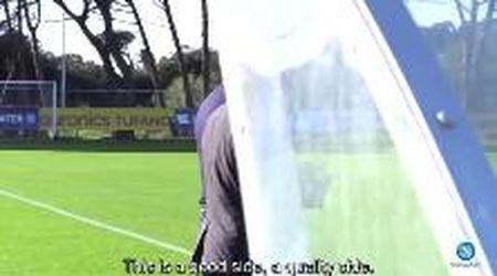 Napoli, fischietto e urla: ecco il primo allenamento di Gattuso