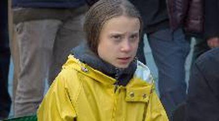 """Greta Thunberg a Torino: """"Felice di essere qui, Torino è una città stupenda"""""""