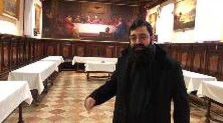 Un mese dall'acqua granda, nel monastero dell'Isola degli Armeni