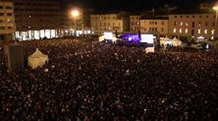 Bologna 19/1, la lunga giornata delle Sardine: il videoracconto dalla piazza gremita
