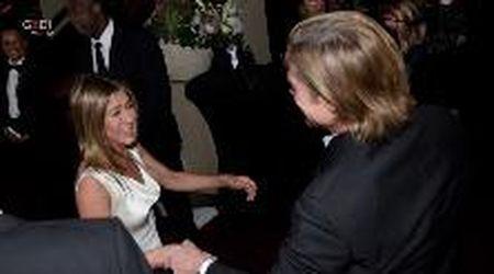 Sag Awards, le immagini di Jennifer Aniston e Brad Pitt che fanno sognare i fan