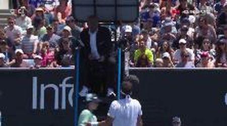 """Australian Open, Fognini insulta l'arbitro: """"Fai pena, io ho già i cazzi miei"""""""