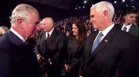 Gerusalemme, il principe Carlo snobba il vicepresidente Usa Mike Pence: niente stretta di mano