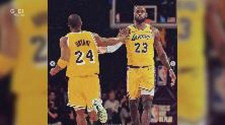 Kobe Bryant, l'addio sui social di LeBron James: ''Non sono pronto, ma ecco qua. Tu dammi la forza, fratello''
