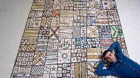 Dal Friuli agli Emirati Arabi: i mosaici di Francesco per decorare il palazzo presidenziale