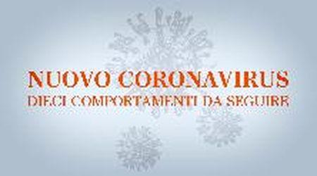 Coronavirus, i dieci consigli del Ministero della salute per evitare l'infezione - videoscheda