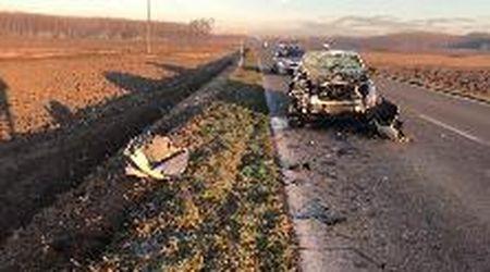 San Giorgio, nove feriti nello scontro fra auto e furgone